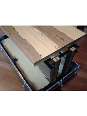 Franc Audio Accessories Wood Block Rack 1+1