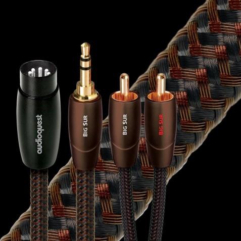 AUDIOQUEST-Audioquest Big Sur mini-jack RCA-00