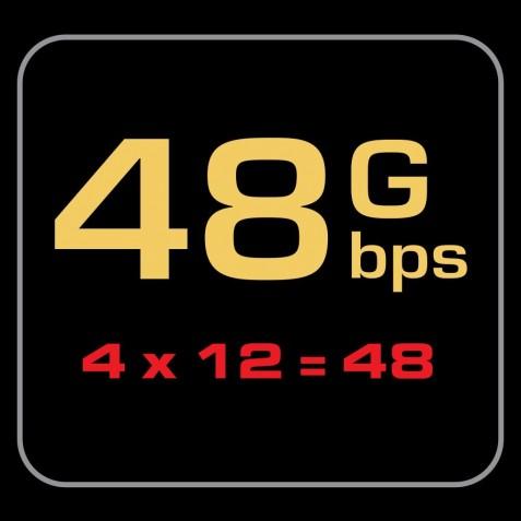 AUDIOQUEST-Audioquest HDMI Vodka 48 48Gbps 8K-10K-00