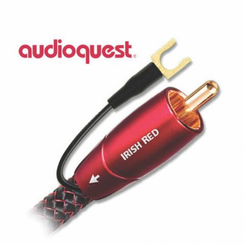 AUDIOQUEST-Audioquest Irish Red Subwoofer Cable-00