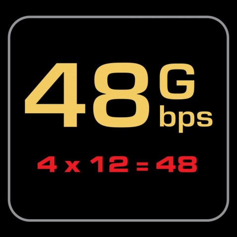 AUDIOQUEST-Audioquest HDMI ThunderBird 48 eARC 48Gbps 8K-10K-00