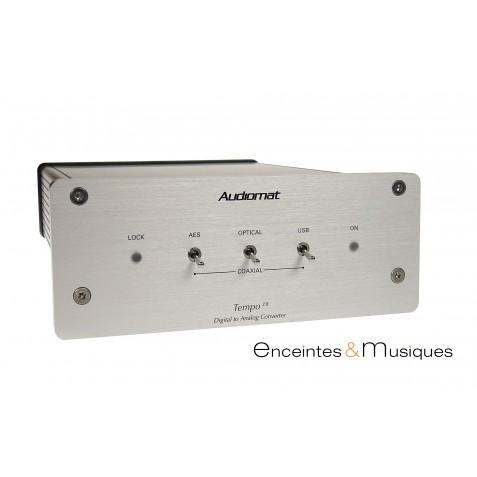 Audiomat Tempo 2.8 convertisseur DAC et réseau