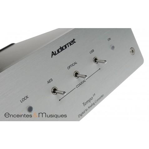 AudioAudiomat Tempo 2.8 convertisseur DAC et réseau