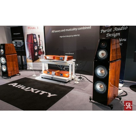 Franc Audio Accessories Wood Block Rack 1+2