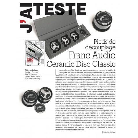 Franc Audio Accessories Ceramic Disc Classic