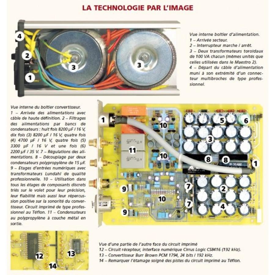 Audiomat Tempo 2.6 -document Stéréo Prestige et Image