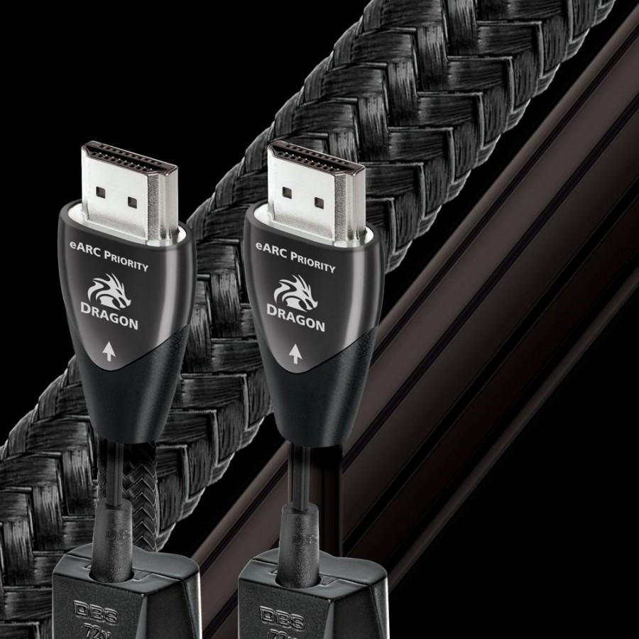 AUDIOQUEST-Audioquest HDMI Dragon eARC 72v DBS 48Gbps 8K-10K-00