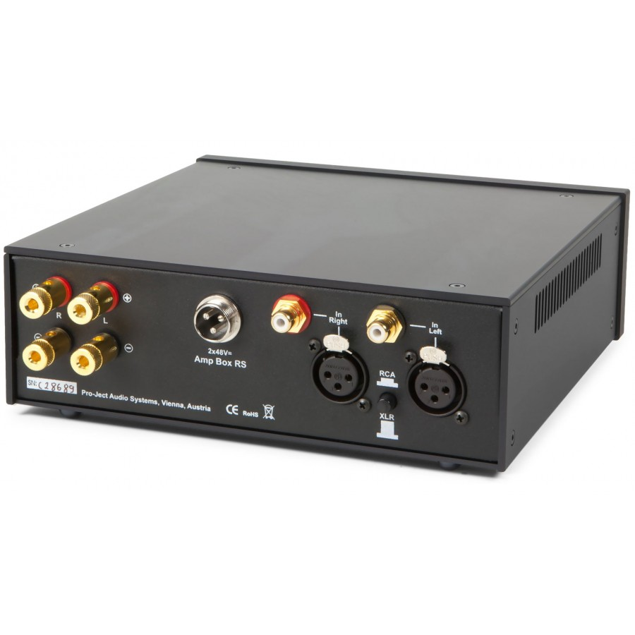 PRO-JECT-Ampli Pro-Ject Amp Box Stereo RS-00