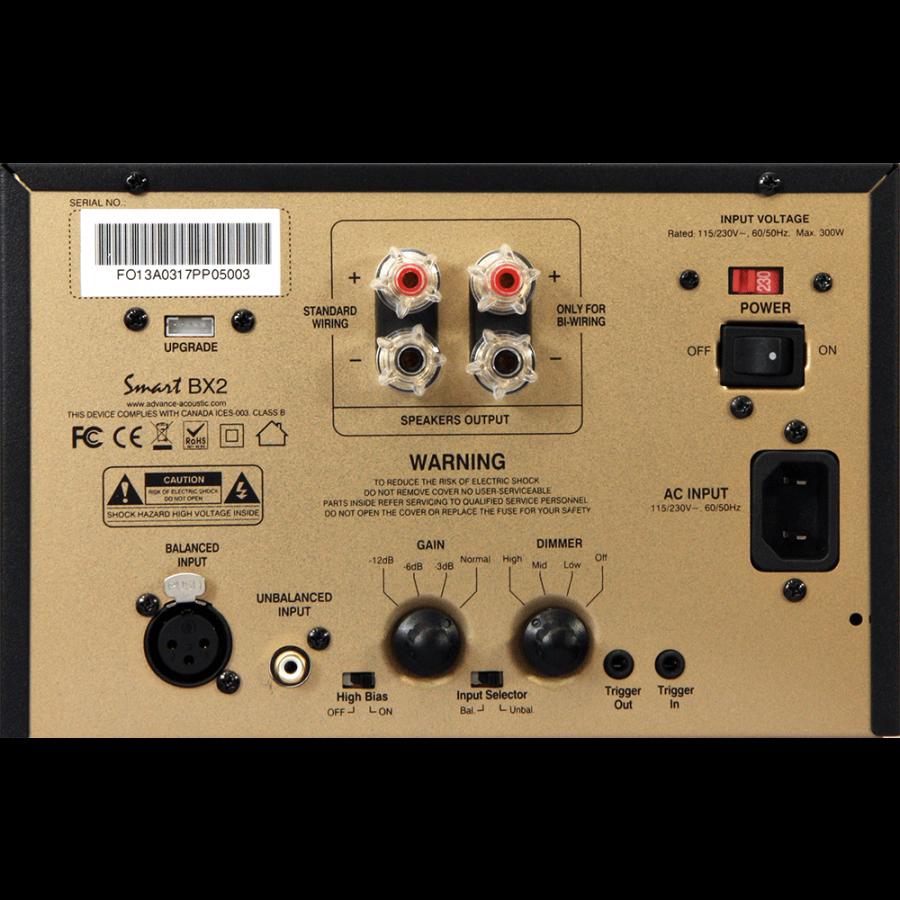 Advance Acoustic-Advance Acoustic Ampli de Puissance BX2-00