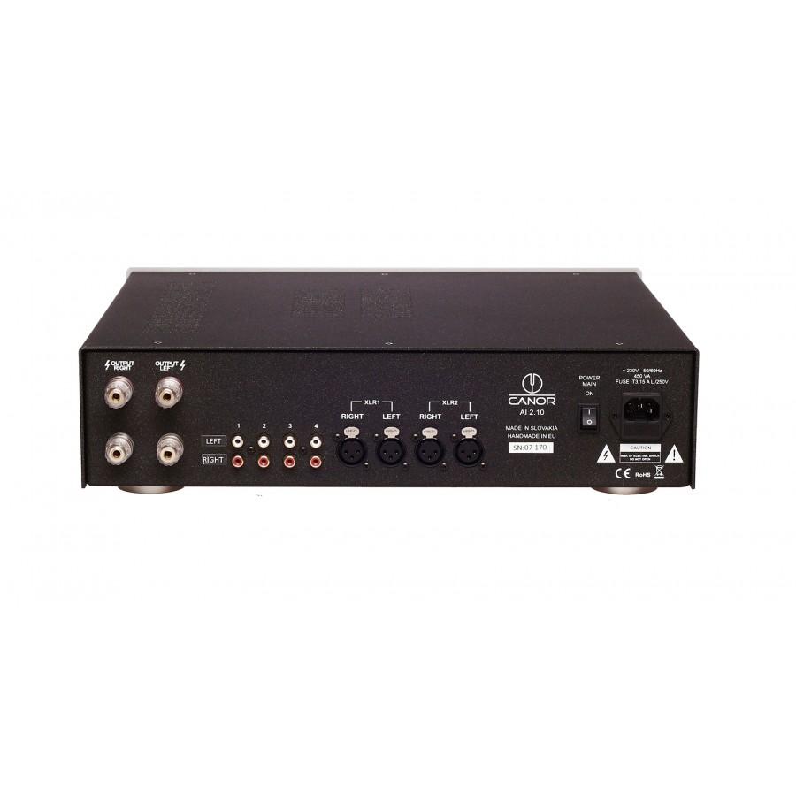 Canor Audio-Canor AI 2.10 amplificateur intégré hybride-00