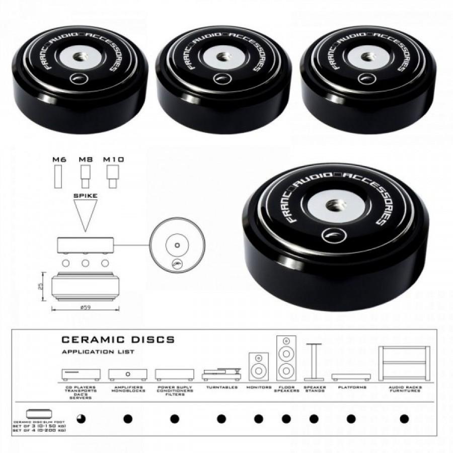 Franc Audio Accessories Ceramic Disc Slim Foot
