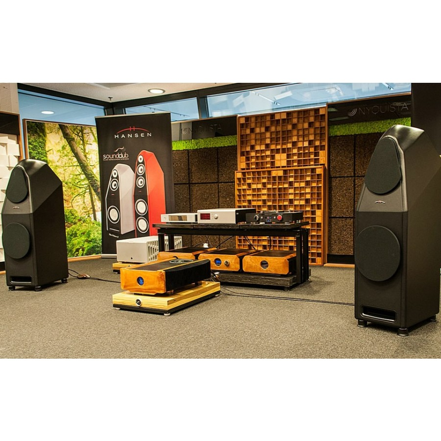 Franc Audio Accessories Wood Block Rack 1+3