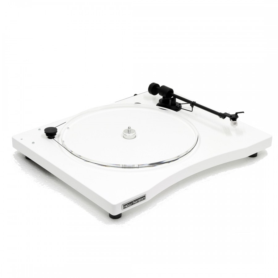 Platine vinyle New Horizon Audio GD1 blanc