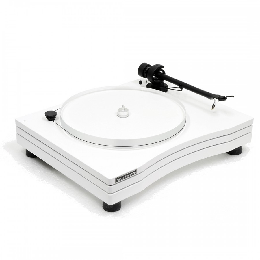 Platine vinyle New Horizon Audio GD3 blanc