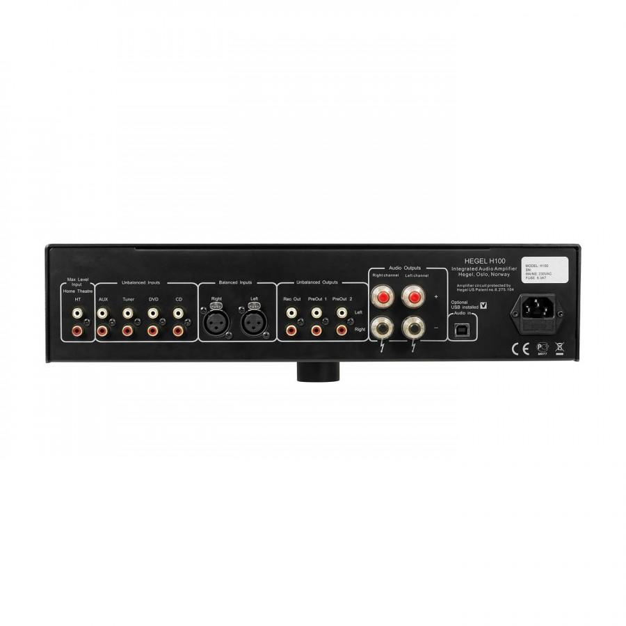 amplificateur intégré HEGEL H100 noir
