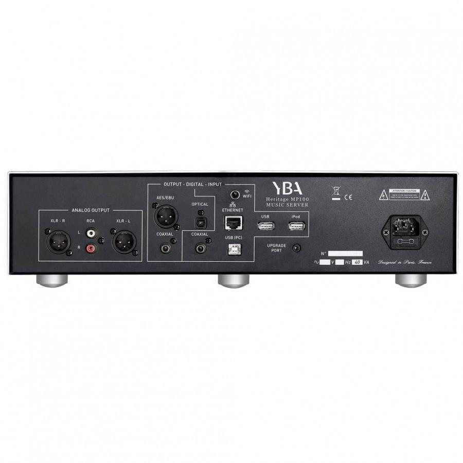 YBA Heritage MP100 SE lecteur reseau