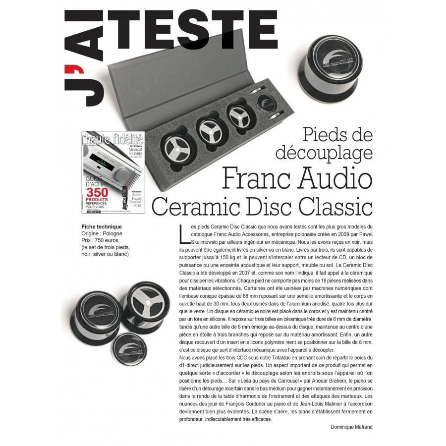 Franc Audio Accessories Ceramic Disc Fat Foot