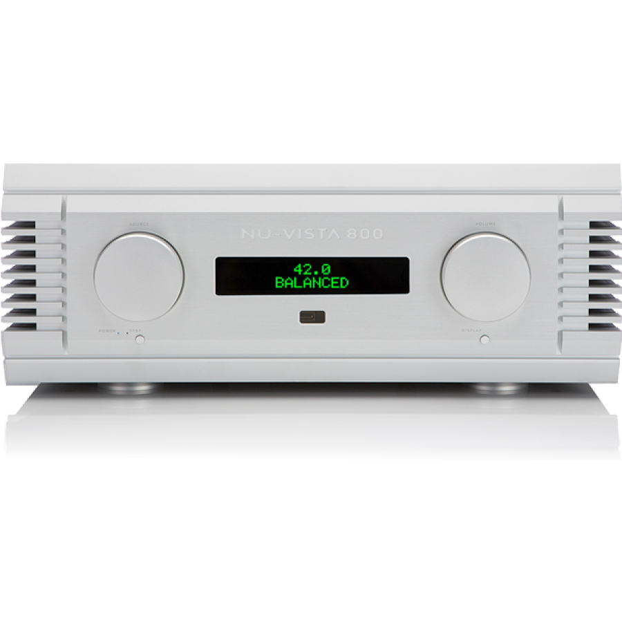 The Nu-Vista 800 is a power-house of an amplifier with outstanding clarity and finesse.