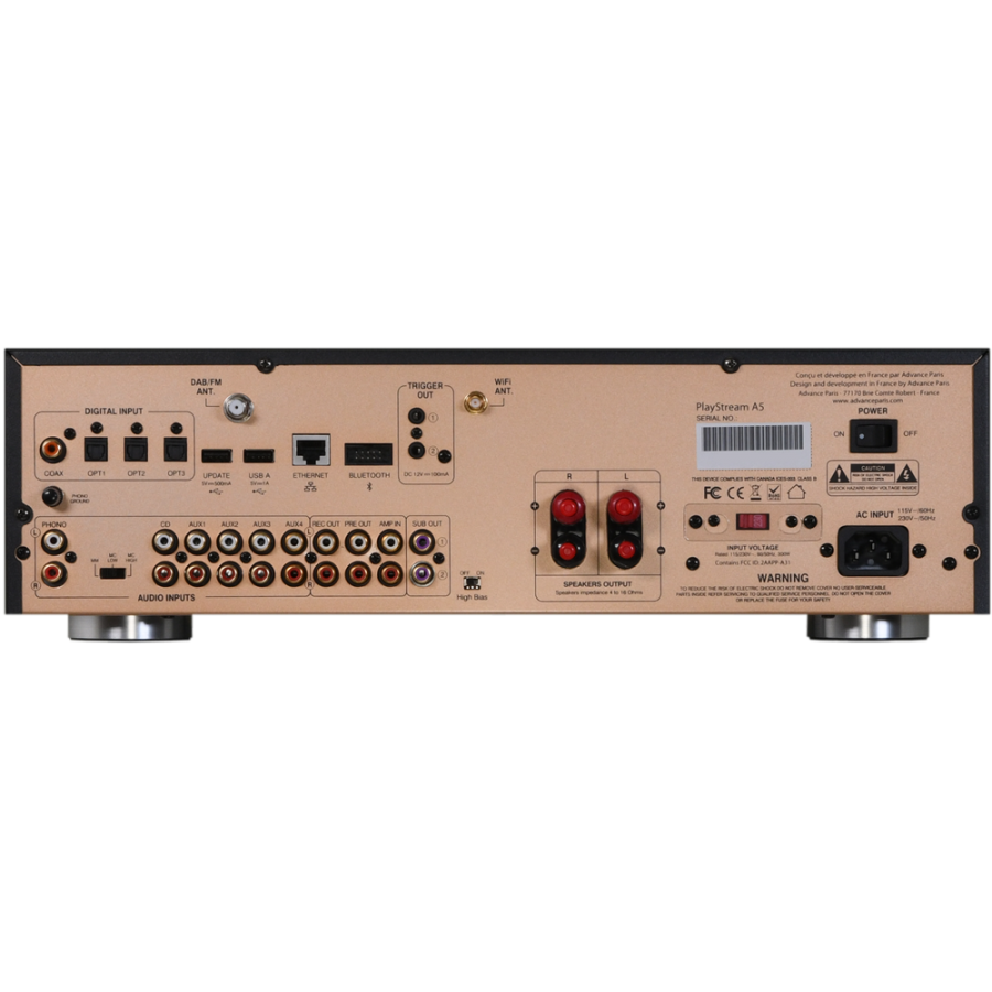 Advance Acoustic-Advance Intégré PlayStream A5-00
