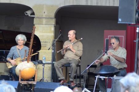 Hadouk Trio en concert le 27 août à Paris