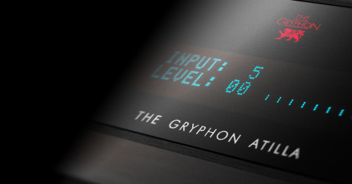Atilla, l'amplificateur du constructeur The Gryphon