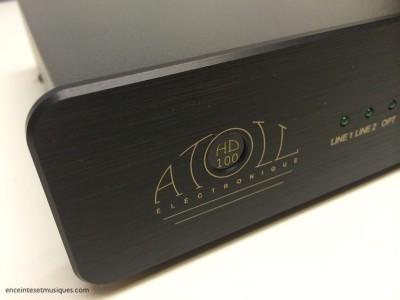 """Atoll HD 100: le nouveau préampli casque/DAC """"reviewé"""" dans le Stéréo Prestige d'Avril"""