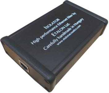 Commande groupée Filtre réseau Etalon Ethernet Isolator
