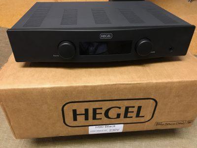 Nouveauté HEGEL, arrivée chez E&M: ampli/lecteur réseau H90, un très bon cru