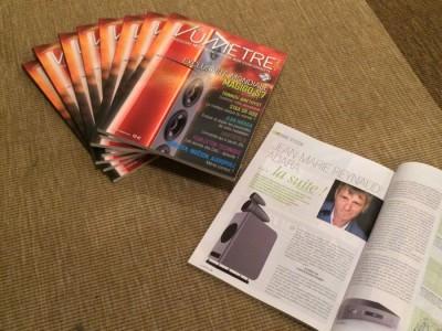 VUMETRE: le magazine audio est disponible chez Enceintes et Musiques: le n° 3 est disponible