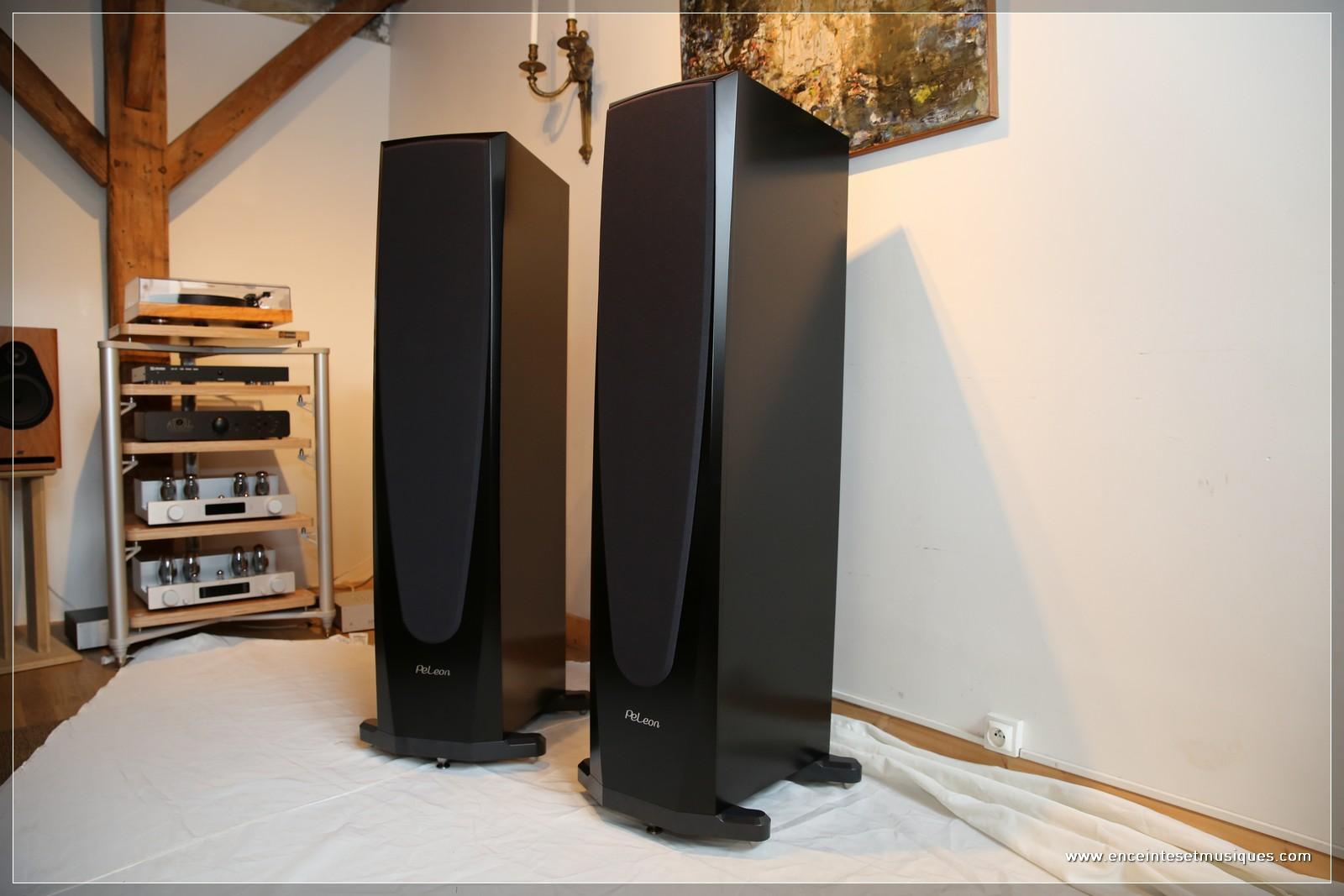 pel integrale les nouvelles enceintes haut de gamme de pierre etienne leon pied d 39 oeuvre. Black Bedroom Furniture Sets. Home Design Ideas